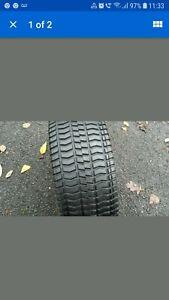 4x Amerityre Turf & Lawn Mower Tyres
