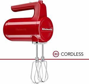 KitchenAid 7-Speed Cordless Hand Mixer | Empire Red