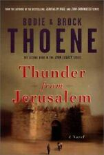 THUNDER FROM JERUSALEM (SIGNED) BY BODIE & BROCK THOENE, 1ST PRINTING