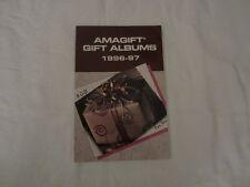 AMAGIFT Gift Albums 1996-97 Catalog - AMWAY