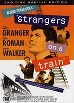 Strangers on a Train (2 Disc Special Edition) * NEW DVD * Farley Granger