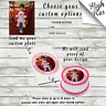 CUSTOM PHOTO EDIBLE ROUND BIRTHDAY CAKE TOPPER DECORATION PERSONALISED