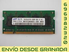 MEMORIA RAM SO-DIMM 1 GB PC2-5300S SAMSUNG M470T2864QZ3-CE6
