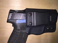 IWB Holster for S&W M&P Shield 45 - Adjustable Retention - 0 Deg Cant