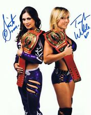 Sarita - Taylor Wilde Signed Autographed 8x10 Photo  w/COA WWE WWF TNA Wrestling