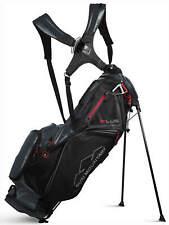 Sun Mountain 4 Plus Stand Bag Golf Carry Bag Black/Gun Metal/Red 2020 New