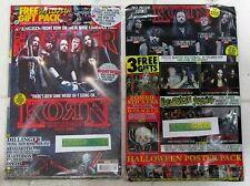 METAL HAMMER + Free CD Nov 2016 KORN DARK SIDE Dillinger BEHEMOTH 12 Posters NEW