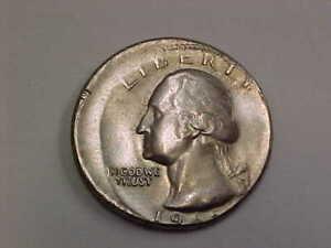 730a) 19something Error Quarter - Off Center - Clad - Starts at $25.00