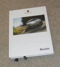 Porsche Boxster Hardback Brochure 987 2.7 3.4 S 2007 - Gen 1