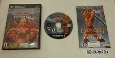 Everquest Online Adventures Frontiers (Sony PlayStation 2 2003) Complete Ps2 Rpg
