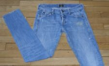 HOLLYWOOD TRADING COMPANY Jeans pour Femme W 28 - L 32 Taille Fr 38 (Réf # P122)