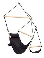 Amazonas AZ 2030580 Chaise Hamac Swinger Charge 120 kg Noir