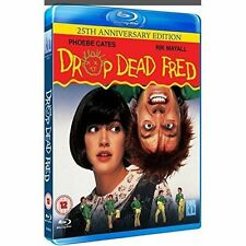 Drop Dead Fred Blu-ray Region B Rik Mayall Phoebe Cates Anniversary Edition