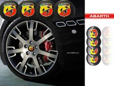 ADESIVO EMBLEMA ABARTH FIAT TUNING AUTO CENTRO RUOTA CERCHIO SCORPIONE 3D 56mm