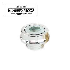 HUNDRED PROOF HARDWARE Oil Cap Honda Civic Acura Integra D15b B16a K20a [Silver]