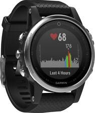 Garmin Fenix 5s Multi-sport GPS 42mm Smart-watch Silver/Black Running - NEW