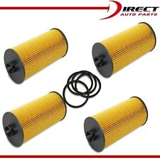 4 Pack FORD Engine Oil Filter 6.0L, 6.4L Turbo Diesel 2003-10 Ford 3C3Z-6731-AA