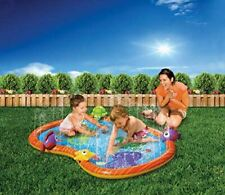 Sprinkling Fun Play Mat Baby Swim Pool Water Sprinkler Summer Fun New in Box