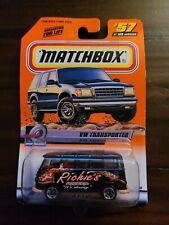 Matchbox 2000 #57 Speedy Delivery Series VW TRANSPORTER