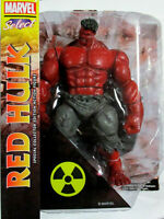 DIAMOND SELECT TOYS  RED HULK   Marvel Select  Action Figure 8' ( Avengers )