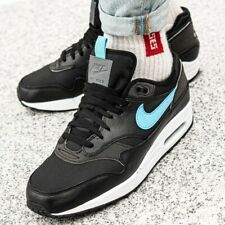 Nike Air Max 1 SE Black Blue Fury Uk Size 12 Eur 47.5 CD1530-001