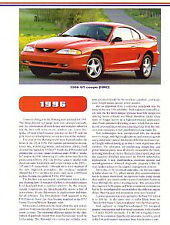 1996 Ford Mustang GT Article + VIN Decode - Must See !!