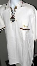 Embroidered Wyoming Drawstring Pullover Polo Shirt w/Pocket Men's XL