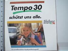 Adesivo sticker ritmo 30 sicuro trasporti NRW (4218)