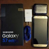 Factory Unlocked Samsung Galaxy S7 Edge GSM LTE Quad Core Smartphone 32GB