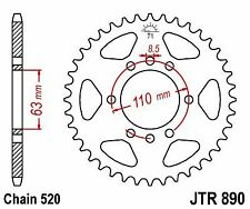 KTM 390 RC 14-16 JT Rear Sprocket JTR890 45 Teeth