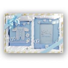 Album kit regalo con cornicetta Blu maschietto10x15 per 100 foto