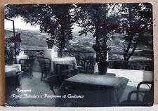 Nazzano - Parco Belvedere e panorama di Godiasco [grande, b/n, viaggiata]