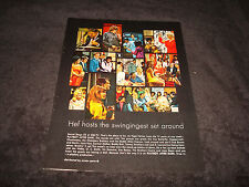 HUGH HEFNER Playboy After Dark 1968 ad Steppenwolf, Iron Butterfly, Joan Baez