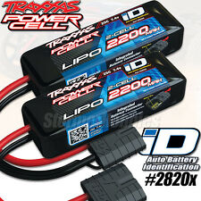 (2) NEW Traxxas 2S 7.4V 2200mAh 25C LiPo Battery 1/16 E-Revo Slash 4X4 VXL 2820X