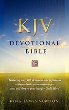 KJV Devotional Bible - Hardcover Hendrickson Publishers / 2011