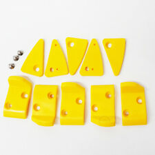 Corghi Tire Changer Leverless Mount Head Inserts Plastic Protectors Yellow Guard