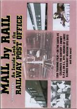 Mail by Rail An Inside Look at the Railway Post Office DVD NEW Chief Fast Mail