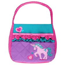 Stephen Joseph Quilted Unicorn Purse for Girls - Cute Kids Handbags - Coin Purse