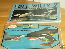 Free Willy 2 The Adventure Home by Nancy Kruli &The Shark Master by Ann Martin