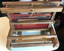 Vintage Wooden Table Weaving Loom
