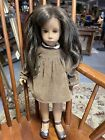 """VINTAGE SASHA Doll brunette SERIE all original 16"""" hair all plugs in tact"""