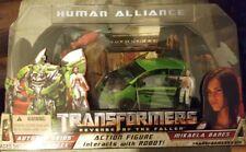Human Alliance Transformers Revenge of the Fallen Mikaela Autobot Skids Arcee