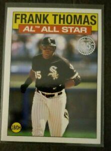 FRANK  THOMAS  2021  TOPPS   35TH  ANNIVERSARY  ALL  STAR  1986
