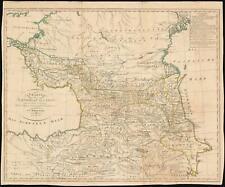 1811 Reinecke Map of the Caucasus, Armenia and Georgia