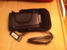 Original GF Ferre women's black leather bag Medium size  dress or casual Italy