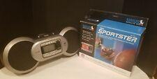 Sirius Sportster SP-TK1 Satellite Radio w/ Boombox Complete