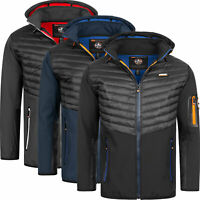 Geographical Norway Herren Softshell Jacke FVSB Stepp Übergangs Outdoor Jacke
