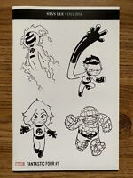 Marvel Comics Fantastic Four 5 Sketch Variant Skottie Young 1 per store VF/NM