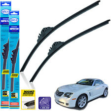 "Chrysler Crossfire 2003-2007 front wiper blades alca SUPER FLAT 22""22"""