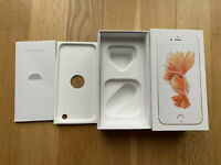 Apple iPhone 6S 128GB - EMPTY BOX - Rose Gold Storage Prank Gift Collection
